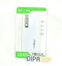 Batteria Esterna Power Bank Portatile TekOne 10000mah Smartphone Tablet Silv hsb