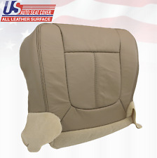 2011 - 2014 Ford F250 Lariat Passenger Bottom Seat Cover Perforated Leather Tan