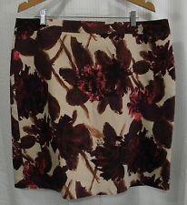 Van Heusen Studio Size 18 Floral Lined Skirt