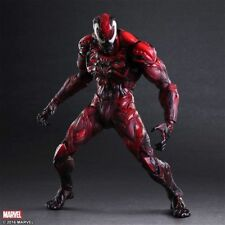"Play Arts Kai Marvel ""Venom"" (Carnage Themed) Spider-Man Action Figure Statue"