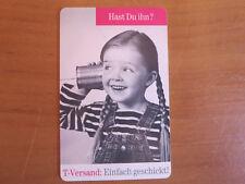 selteneTelefonkarte, T-Versand-Katalog, 12 DM
