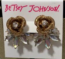 92727403d Betsey Johnson Cubic Zirconia Fashion Earrings for sale   eBay