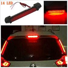 Red 14LED Car Rear Windscreen Dash Third 3RD Brake Stop Light Warning Tail Lamp