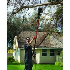 Electric Pole 2in1 Combo Chain Saw Tree Branch Trimmer Pruner 15-ft Garden Tool