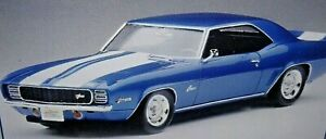 REVELL 1969 CAMARO Z/28 RS BODY,INTERIOR,CHASSIS,SUSPENSION,DECALS,GLASS TRIM