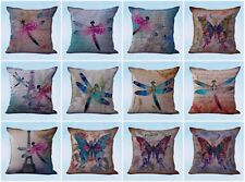 US Seller- 10pcs accessories for home decor cushion covers butterfly dragonfly