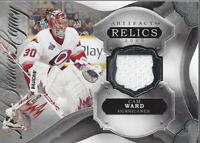 2016-17 Artifacts Lord Stanley's Legacy Relics #LSLRCW Cam Ward C Jersey - NM-MT