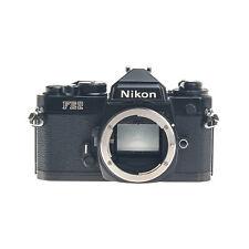 Nikon FE2 35mm Film SLR Camera Body Black