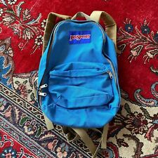 Vintage Jansport Lightweight Backpack 70's-80's Nylon 2 Pocket Retro Minimalist
