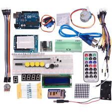Project UNO R3 Starter Kit für Arduino Breadboard 1602 LCD LED Jumper Wire Motor