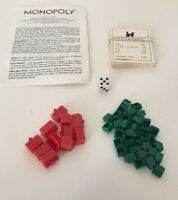Monopoly 1973 - Replacement Parts