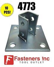 "(#4773) P2072A Eg Angled Post Base 1-5/8"" for Unistrut / B-Line Channel Qty 10"