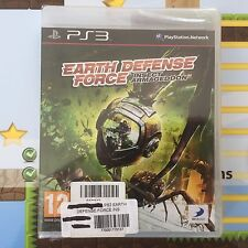 Earth defence force insect armageddon SONY PLAYSTATION 3 PS3 game-new & sealed