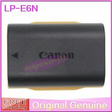 Genuine Original Canon LP-E6N LPE6N Battery for EOS 5D2 7DMark II LP-E6 LC-E6E