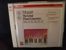 Mozart-the Great piano concertos nos.9, 15, 22, 25 & 27-Brendel/Marriner