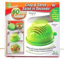 60 SECOND SALAD  CHOP & SERVE SALAD IN SECONDS!  AS SEEN ON TV