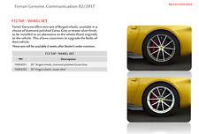 Ferrari F12 tdf 20'' forged wheels matte silver 70004202 / ATD SPORTSCARS