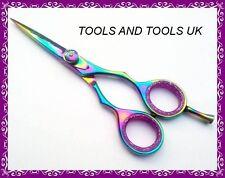 PROFESSIONALE 6'' in titanio per parrucchieri forbici cesoie 100% J2