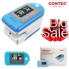 Bluetooth OLED fingertip pulse oximeter Spo2 Monitor pedometer CMS50D-BT fr APP