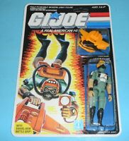*RECARDED* 1986 GI Joe Wet Suit v1 Figure Complete Sealed *CUSTOM File Card Back