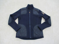 Mountain Hourse Jacket Womens Large Blue Full Zip Riding Coat Casual Ladies