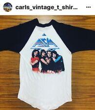 Vintage Asia Tour T Shirt / Roger Dean 1983