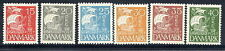 DENMARK 1927 Caravel with solid background set of 6 LHM / *
