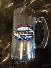 Tennessee Titans Glass Mug NFL Football Glassware