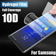 Pour Samsung Galaxy A6 A8 A7 2018 S9 S10 10d Hydrogel Film