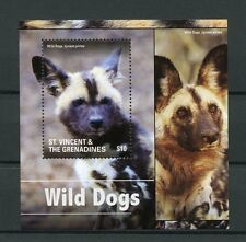 St Vincent & The Grenadines 2015 MNH Wild Dogs 1v S/S II Wild Animals