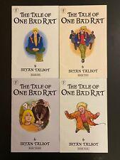The Tale of One Bad Rat 1-4 High Grade Dark Horse Lot Set Run CL56-37