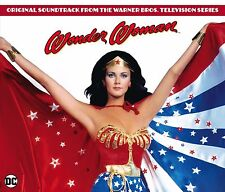 WONDER WOMAN TV Series CHARLES FOX La-La Land 3-CD Box Set SOUNDTRACK Score NEW!