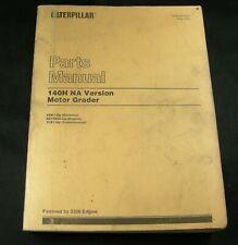 Cat Caterpillar 140h Na Version Motor Grader Parts Manual Book Catalog 2zk1 Oem