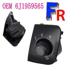 Pour Seat Ibiza Interrupteur Commande Bouton Rétroviseur 6J1959565 Noir