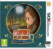 Il Professor Layton Mystery Journey Katrielle E Complotto Milionari Nintendo 3DS