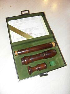 Blockflöte Sopran Moeck Rottenburgh Nr 429 Palisander flute barock recorder