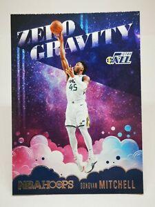 Panini Hoops 2020-21 N19 card NBA Zero Gravity Donovan Mitchell #7 Utah Jazz