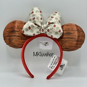Disney Parks Epcot Food and Wine Festival Minnie Orchard 2021 Ears Headband NEW