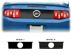 Ford Mustang Rear Deck Trunk Accent or Blackout Decal 2005 2006 2007 2008 2009