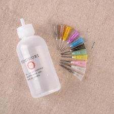 11 Needles + 50ml Needle Tip Dispenser Bottle Solder Liquid Flux Dispensing Tool