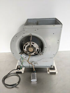Squirrel Cage Blower Fan // 115 VAC // 1/3 HP GE Electric Motor // ~18 inch HVAC