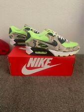 Nike Air Max 90 Green Camo / Duck Camo Volt - Men's Size 10