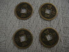 4 CHINESE COINS - Good for Magic Tricks