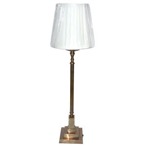 "EXTREMELY BEAUTIFUL  PURE BRASS ""ELITE"" TABLE LAMP IN DIFFERENT FINISHES"