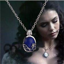 The Vampire Diaries katherine Pendant Antique Silver Necklace