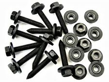 Volvo Body Bolts & Barbed Nuts- M6-1.0mm Thread- 10mm Hex- Qty.10 ea.- #393