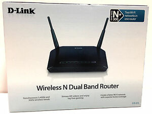D-Link DIR-815 D-Link Wireless N Dual Band 2.4/5.0 Router Lightly Used