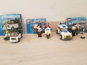 LEGO City lot of 7235 7236 3177