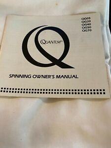 Quantum QG05, 20, 40, 50, 70  Fishing Reel Factory Owners Manual