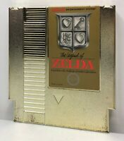 NES The Legend of Zelda Gold Cart *Authentic/Cleaned/Tested* *New Save Battery